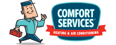 Call Comfort Services Heating & Air Conditioning for reliable Furnace repair in Plainfield IL
